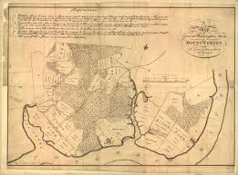Paper Town Map George Washington U0027s Own 1793 Map Of Mount Vernon Atlas Obscura