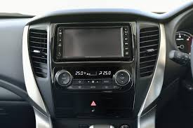 mitsubishi strada 2016 interior 2016 mitsubishi pajero sport electronic parking brake and 4wd