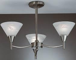 Nickel Ceiling Light Harmony Satin Nickel 3 Light Semi Flush Ceiling Light Pe9833