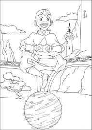 avatar coloring pages