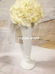 Crystal Flower Vases Tall Wedding Flower Vase Vases Wedding Centerpieces Flower Vase