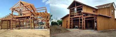 Timber Frame Barn Homes Bitterroot Timber Frames In Stevensville U0026 Big Sky Mt