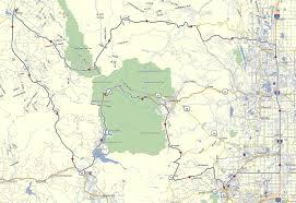Rocky Mountain National Park Map Maps Don Moe U0027s Travel Website