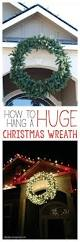 Large Outdoor Holiday Decorations Best 25 Outdoor Christmas Wreaths Ideas On Pinterest Christmas