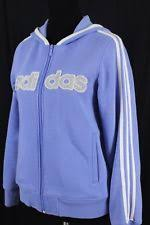 light blue adidas hoodie adidas cotton blend sweats hoodies for women ebay