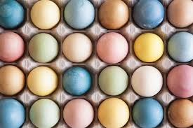 naturally dyed easter eggs kaley ann