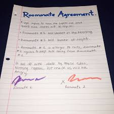 Sample Roommate Contract German Journey Roommate Etiquette Blogs Theshorthorn Com