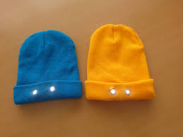 Knit Cap With Led Light We Care About Our Customers Led Light Multi Purpose Beanie Hat