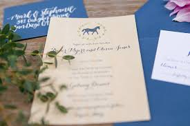 wedding invitations galway preppy colorful summer wedding at galway downs