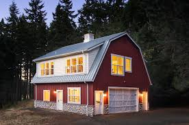 gambrel style house with barn house exterior rustic and oval