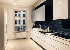 tiles ideas for kitchens flooring wheat cancos tile matched with white wall plus black