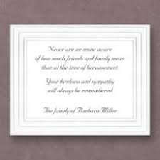thank you for sympathy card sympathy cards personalized sympathy cards the stationery studio