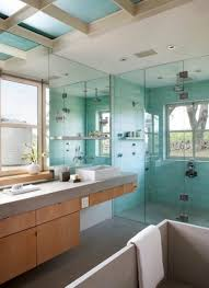 bathroom simple vanity gray ceramics top undermount sink big