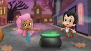 bubble guppies halloween party games episodes video