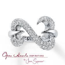 kay jewelers open heart kay open hearts inspirations by jane seymour diamond ring