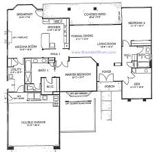 split bedroom house plans sun city vistoso floor plan crown point model