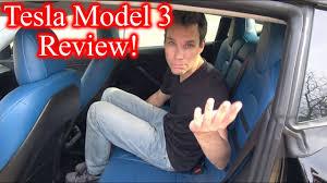 tesla model 3 interi tesla model 3 interior review custom youtube