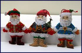 the book and crafts review corner santa ornaments