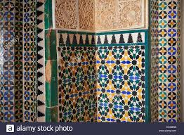 Moorish Design by Moorish Arabesque Ceramic Tiles Of The Palacios Nazaries Alhambra
