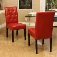 Red Leather Dining Chair Dinning Dining Room Chairs Red Leather Chair Dining Chairs Brown