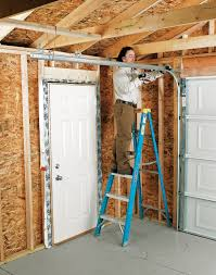 Installing An Overhead Garage Door Installing An Overhead Garage Door Blackdecker Garage Door Bottom