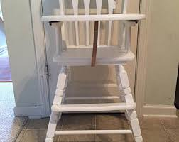 Antique Wood High Chair Etsy Your Place To Buy And Sell All Things Handmade