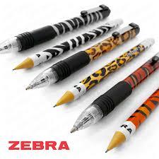 zebra z grip and cadoozles pack of 6 funky animal print 3