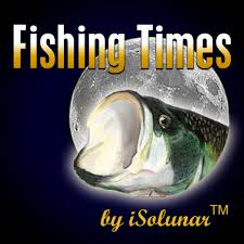 Solunar Tables Fishing Fishing Times By Isolunar On The App Store