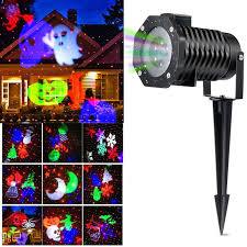 halloween light display projector christmas light projector ucharge rotating projector snowflake