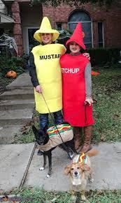 Ketchup Halloween Costume Ketchup Mustard Dogs Halloween Costume