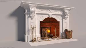 victorian white marbel fireplace welcome to autumn by ricky colson