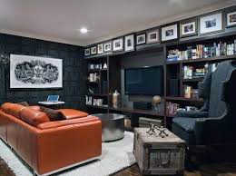 Masculine Home Decor 70 Home Basement Design Ideas For Men Masculine Retreats