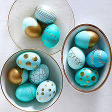 metallic easter eggs 25 ways to decorate easter eggs six stuff six