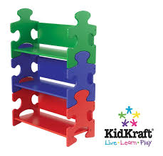 Kidkraft Nantucket 2 Shelf Bookcase Kidkraft Primary Puzzle Bookshelf 14400