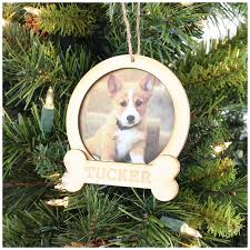 personalized dog frame ornament decor sassy steals