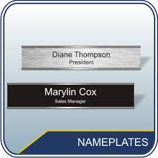 office name plates cubicle name plates desk name plates