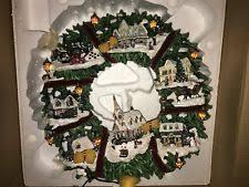 kinkade wreath ebay