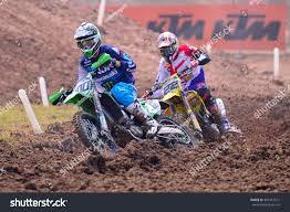 z racing motocross track searle tommy 100 monster energy drt stock photo 391014571