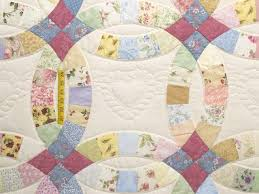 wedding ring quilt pattern 124 best wedding ring quilts images on