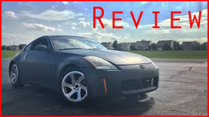 Nissan 350z Coilovers - 2004 nissan 350z review youtube