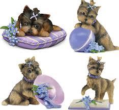 yorkshire terrier figurines yorkie sculptures miniatures