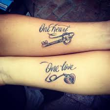 image result for his and hers matching heart tattoos tattoo