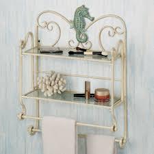 wall shelves design best bathroom wall organizer shelves wall