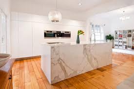 marble kitchen island 30 modern marble kitchen design ideas