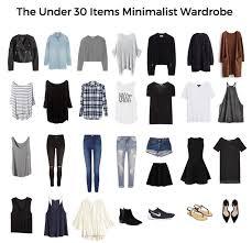 how to create a minimalist wardrobe printable checks fall