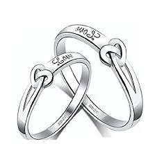 men rings prices images Buy girlz platinum plated twin heart love couple rings 2 pieces jpg