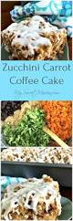 zucchini carrot coffee cake my sweet mission