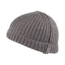 carhartt wip hats rib beanie hat grey from hats