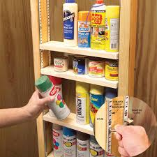 clutter busting strategies for every room shelving spray