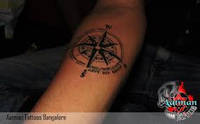 Tattoos On Shoulder For - compass design compass looks more attractive in